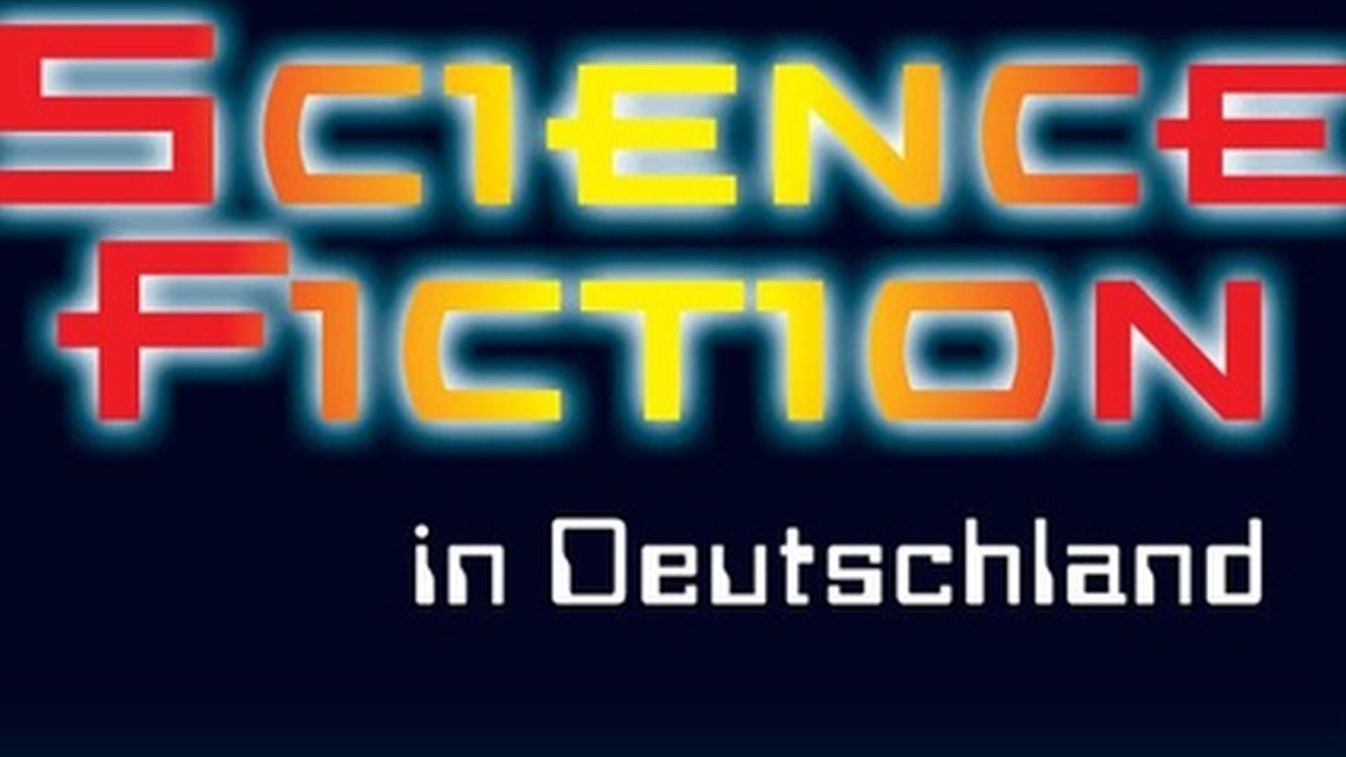 Ausstellungsplakat Science Fiction in Deutschland