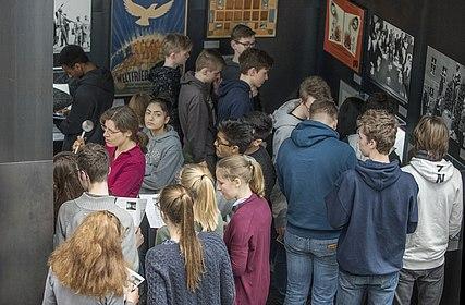 Foto Holocaust-Gedenktag 2018, (c) Marlitt Schulz, Stiftung Haus der Geschichte der Bundesrepublik Deutschland