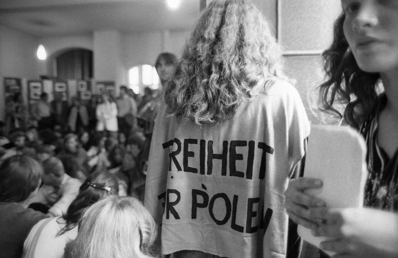 Fotografie 'Freiheit für Polen'