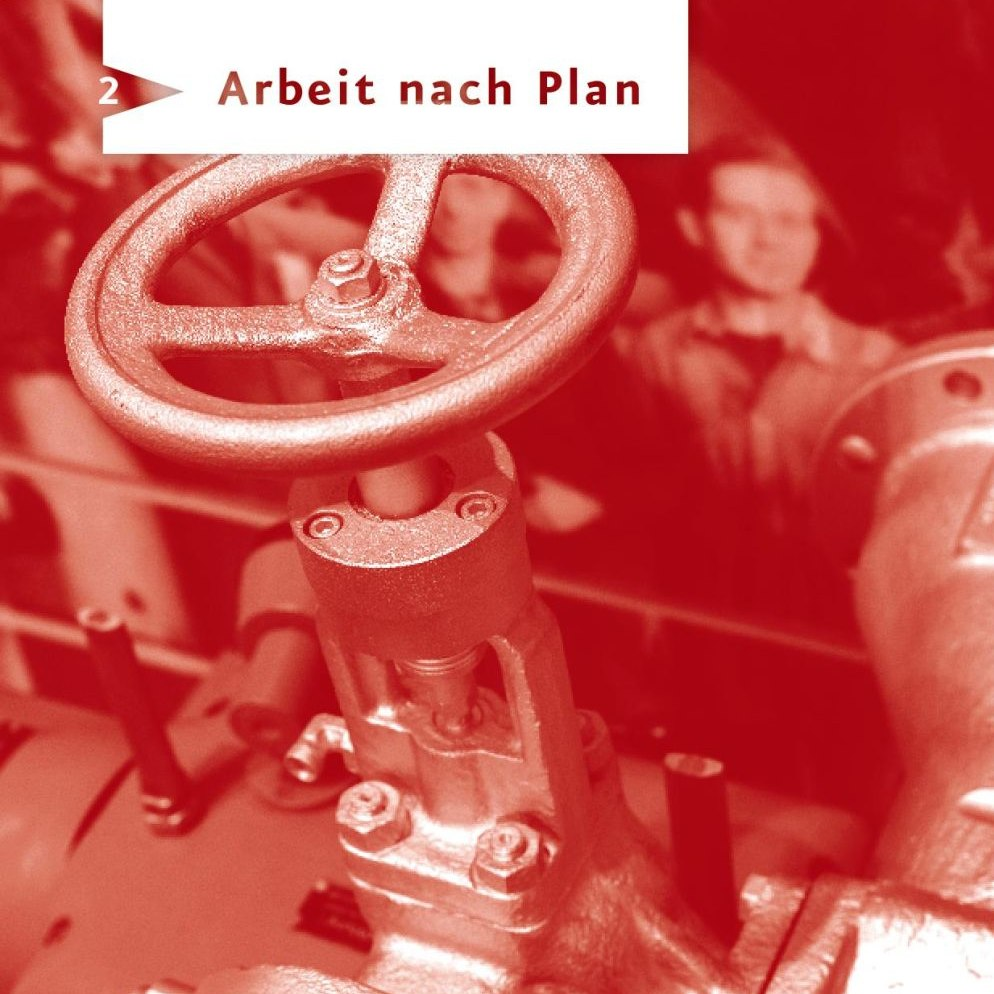 Seite 'Arbeit nach Plan' aus dem Spurensuche-Block