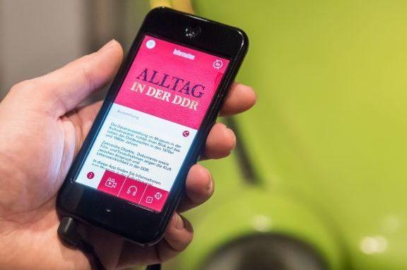 App zur Dauerausstellung 'Alltag in der DDR' im Museum in der Kulturbrauerei