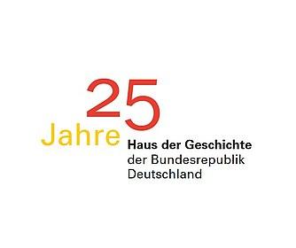 Logo 25 Jahre Haus der Geschichte (c) Stiftung Haus der Geschichte der Bundesrepublik Deutschland