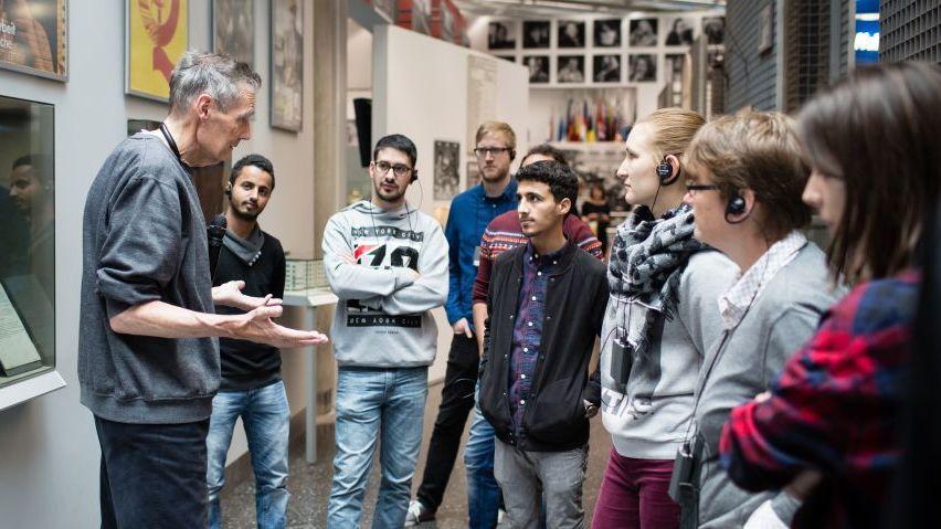 Begleitung mit Deutschlernern