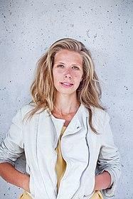 Porträtfoto der Moderatorin Greta Taubert