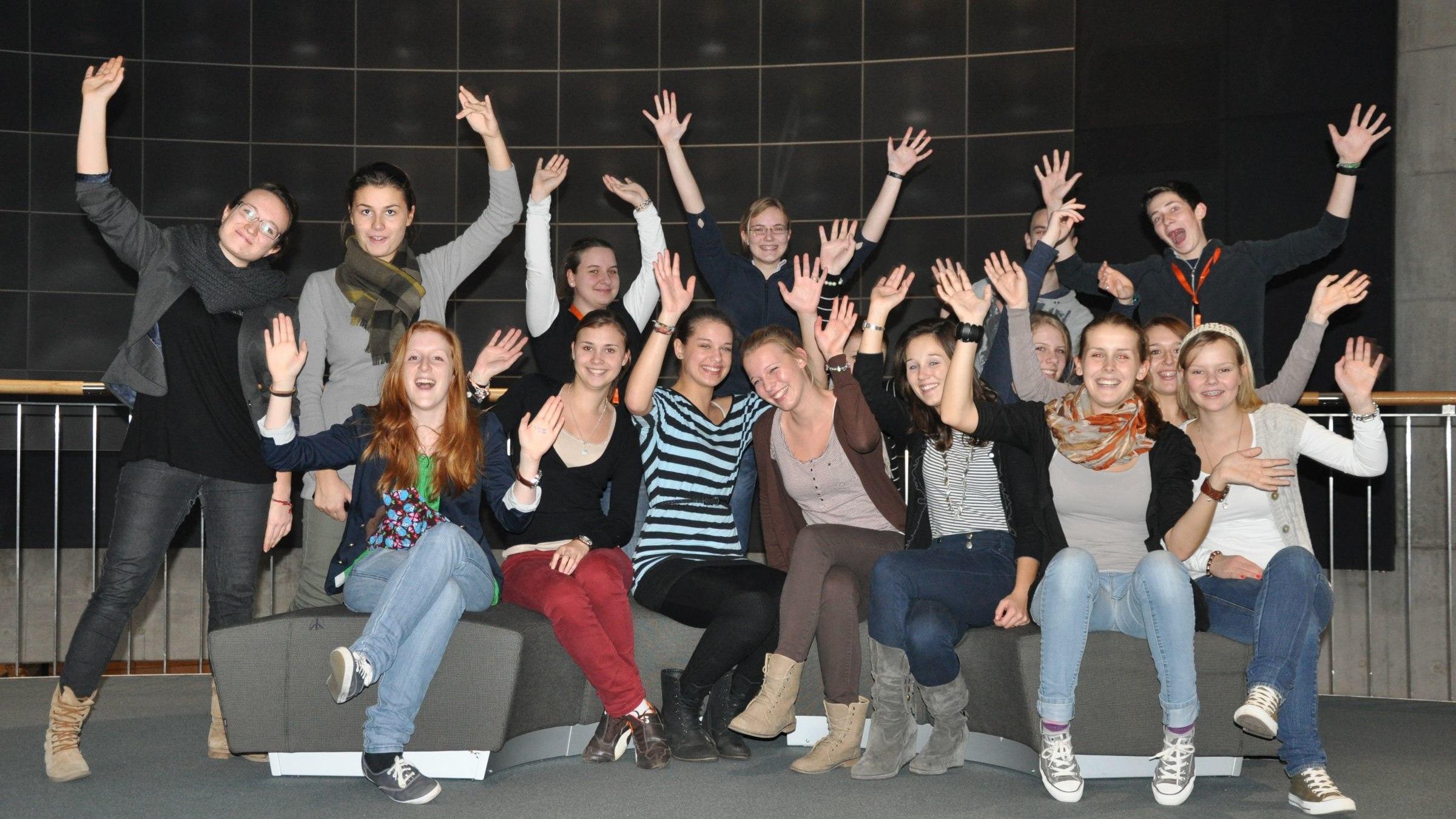 Gruppenfoto der TeenGroup 2011/2012