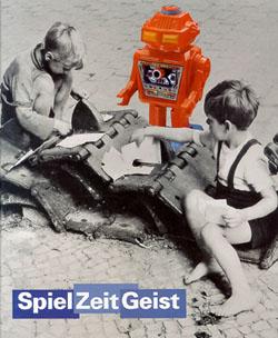 """Plakat zur Wechselausstellung """"Spiel Zeit Geist"""" von 1994"""