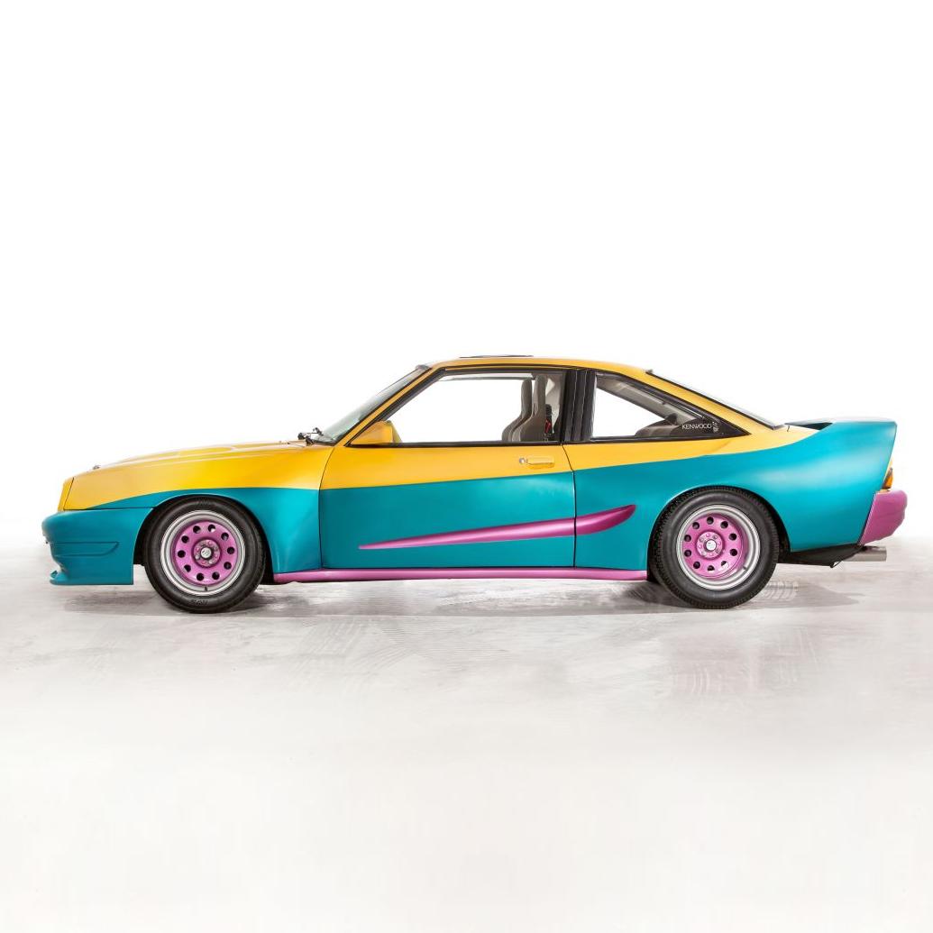 Originalauto aus dem Film Manta, Manta