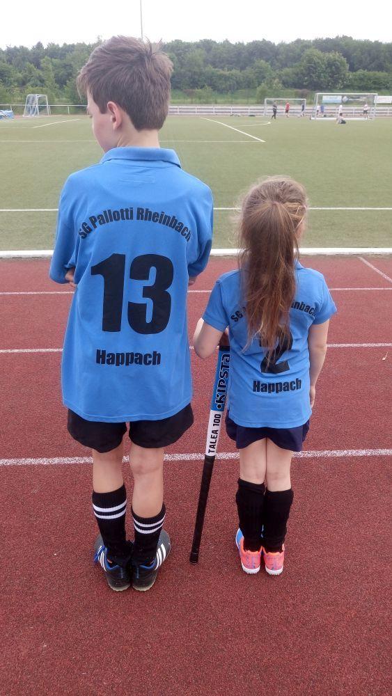 Lukas und Sarah Happach von der SG Palotti Rheinbach Hockey