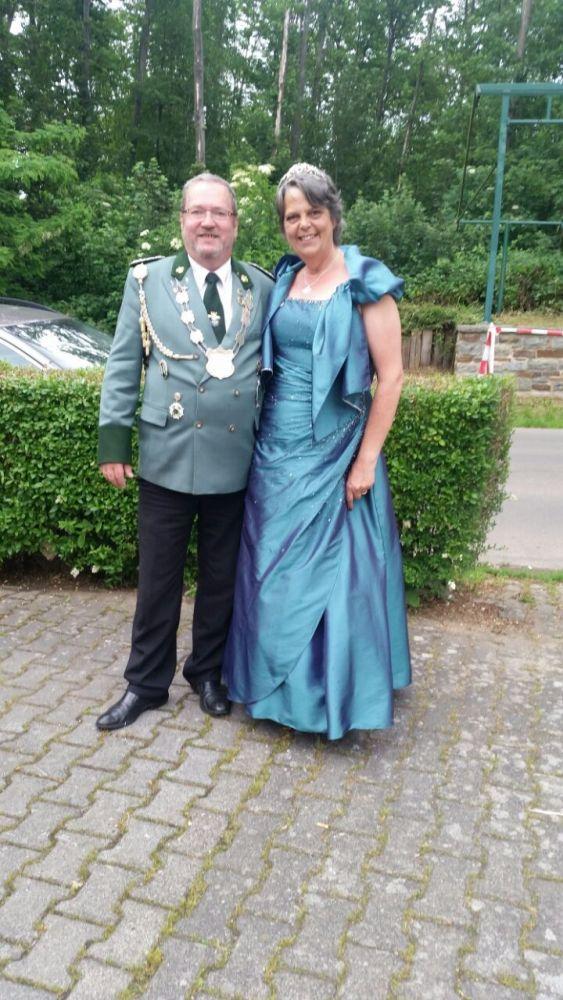 Heinz und Manuela Oltmanns von der Schützenbruderschaft St.Sebastianus und St.Hubertus 1313 e.V Rheinbach