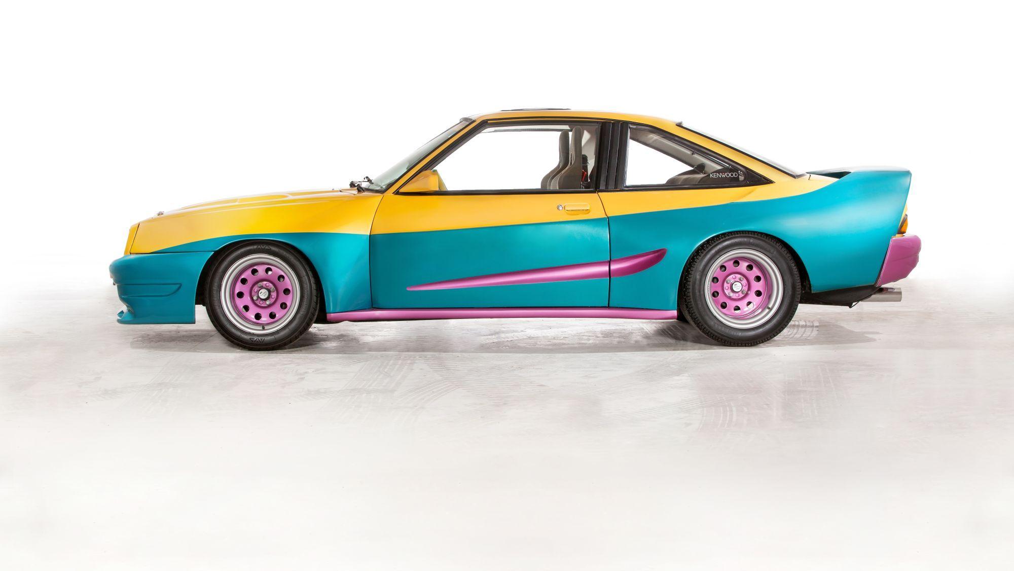 A colourful Opel Manta B