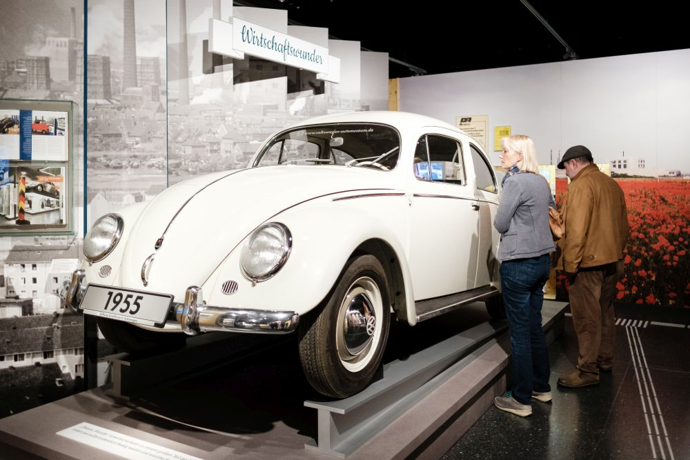 Duplicate of the millionth Volkswagen