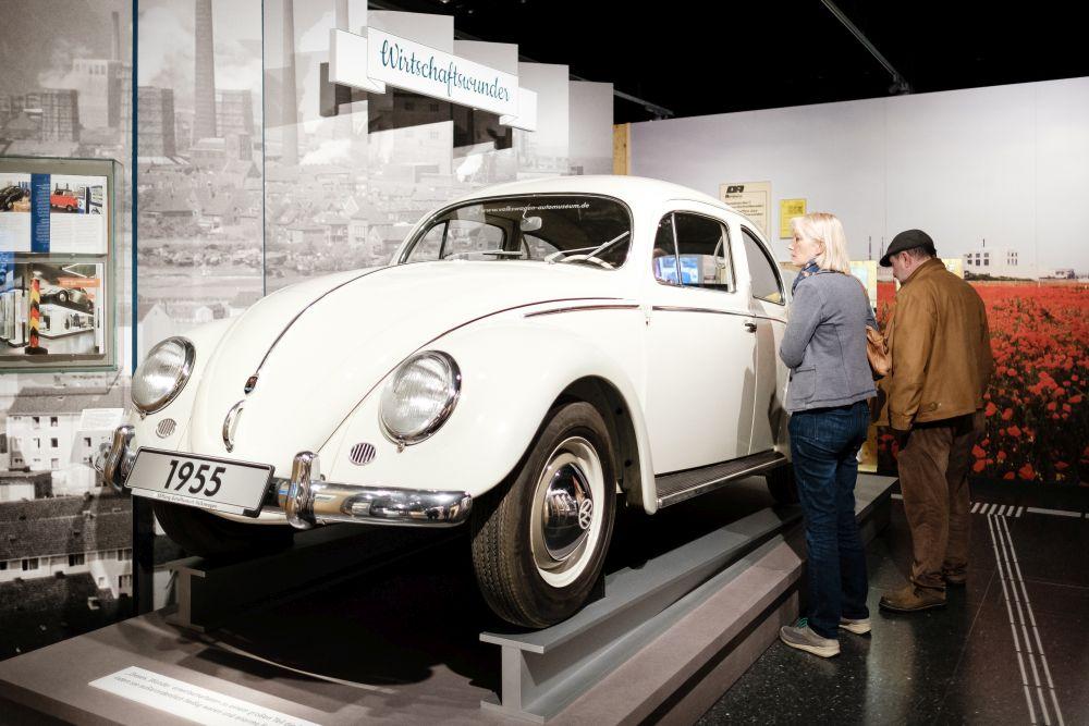 Duplikat des millionsten Volkswagens