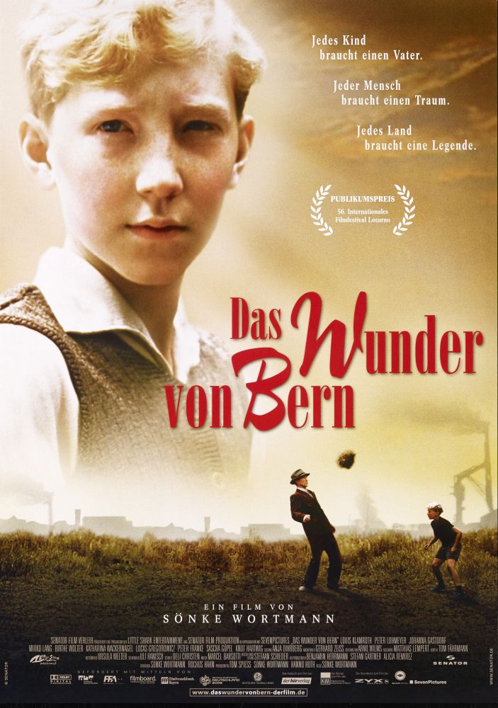 """Film poster """"The Miracle of Bern"""""""