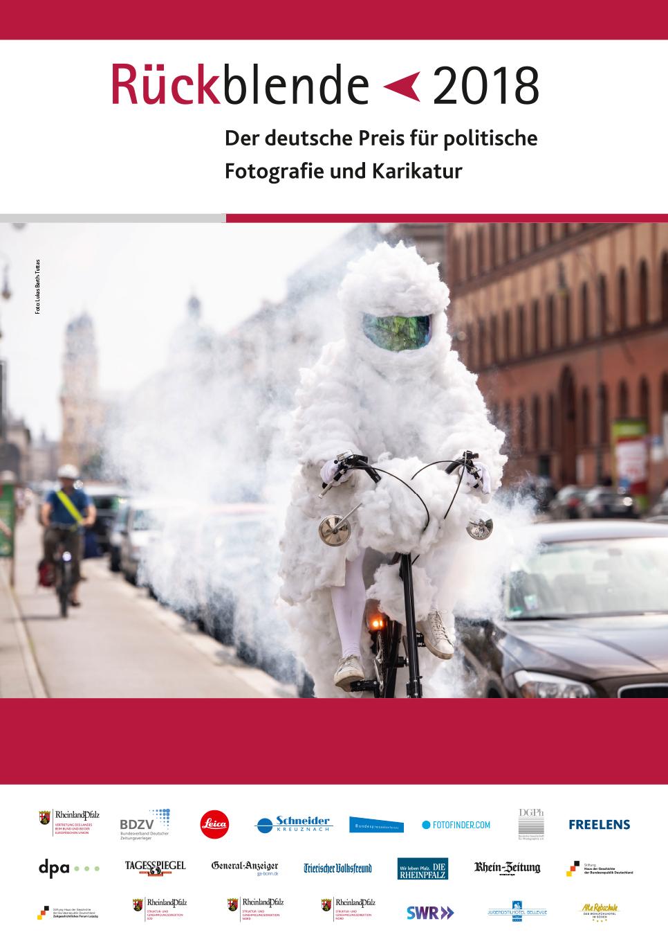 """Plakat zur Wechselausstellung """"Rückblende 2018"""""""