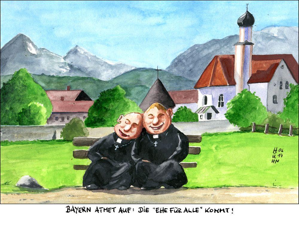 Ehe für alle, Mathias Hühn