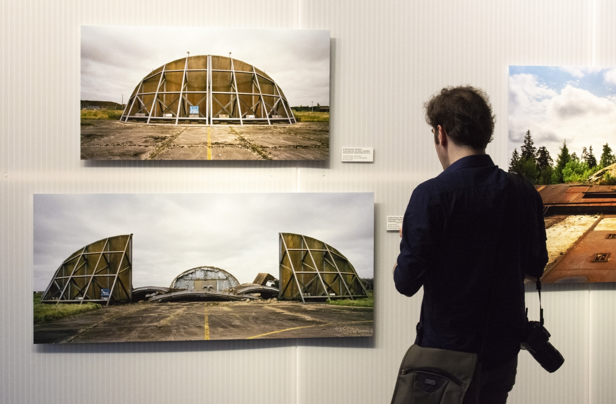 Martin Roemers in the exhibition