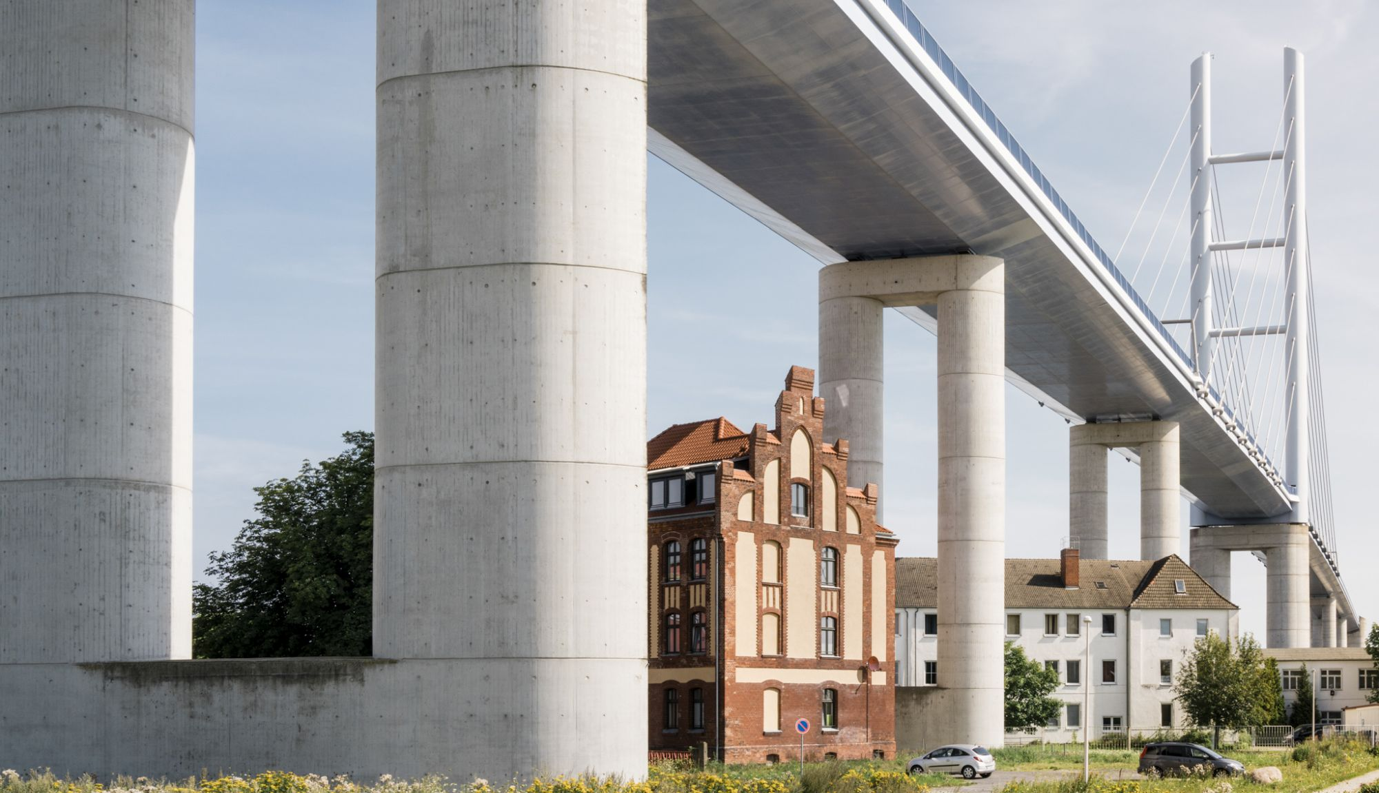 House under Rügen Bridge, Hanseatic City of Stralsund