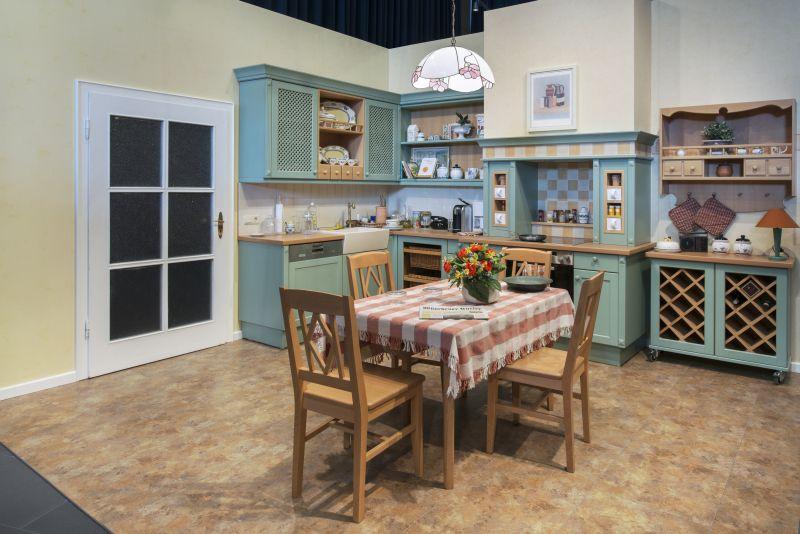"""Detailansicht Herd und Ofen in """"Helga Beimers"""" Küche"""