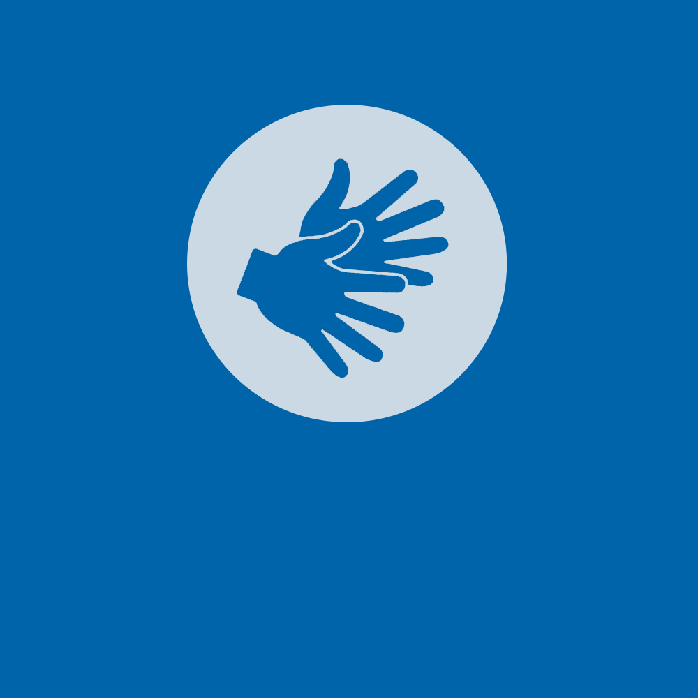 Logo für Gebärdensprache