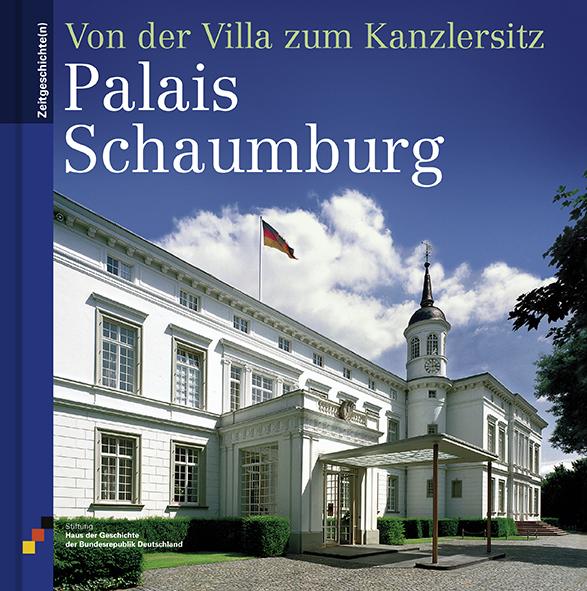 Buch mit einem Foto des Palais Schaumburg auf dem Cover