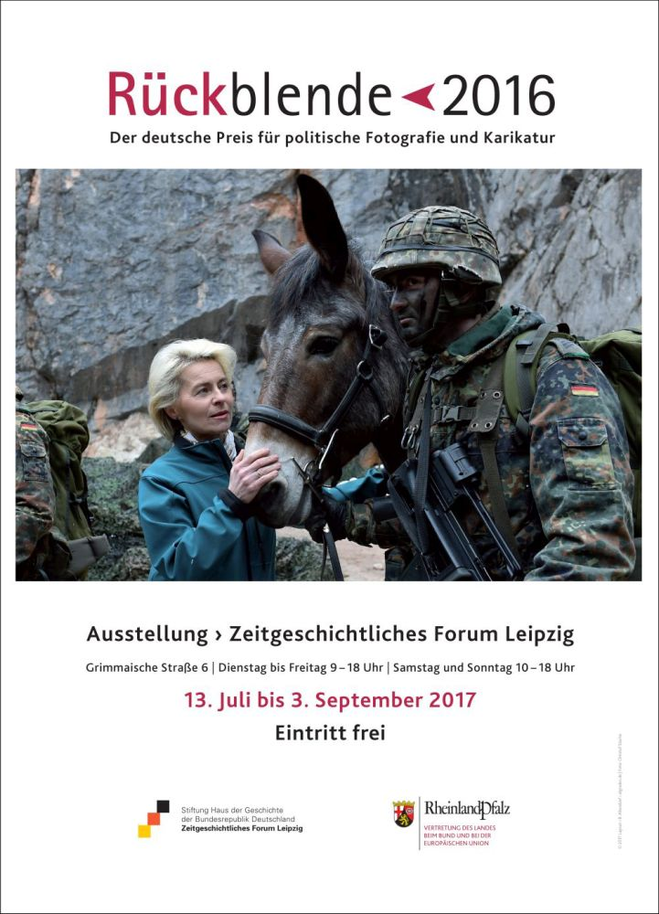 Plakat Rückblende 2017
