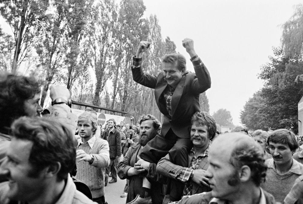 Arbeiter auf der Danziger Lenin-Werft, Harald Schmitt