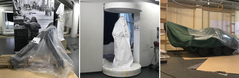 Geschütze Objekte in der Dauerausstellung