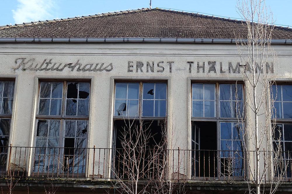Das Kulturhaus Ernst Thälmann in Braunsbedra
