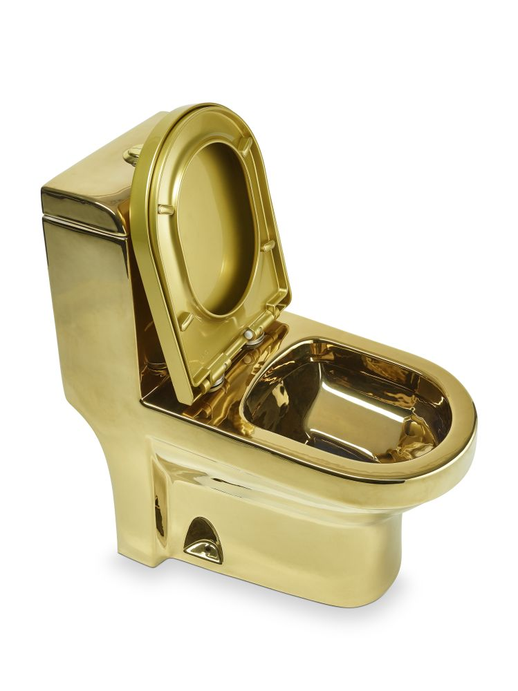 "Goldene Toilette ""RD Luxury"""