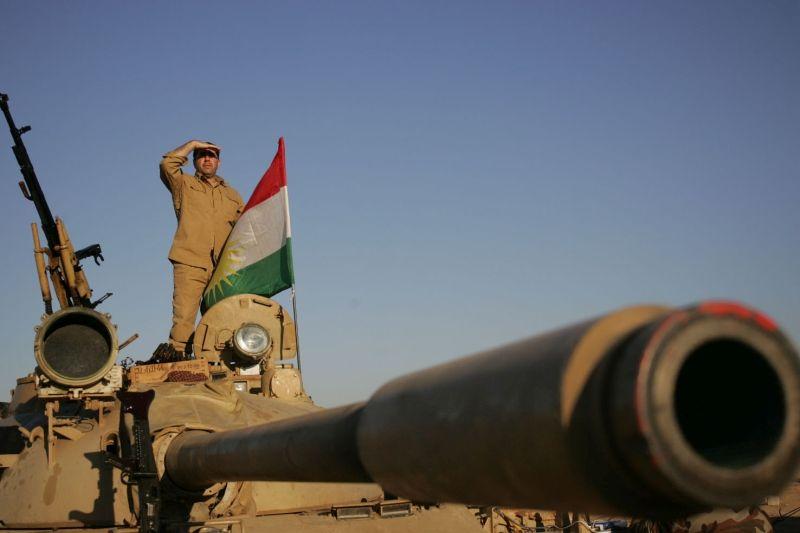 Baschika-Front bei Mossul. Irak, 2016