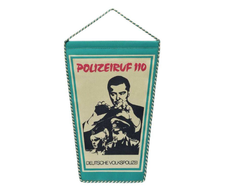 """Andenken an die DDR-Fernsehserie """"Polizeiruf 110"""""""