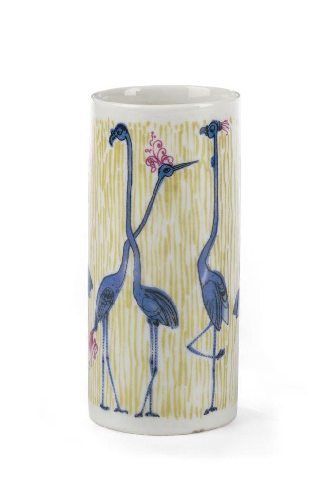 Cylinder vase Zoo Berlin, Hubert Petras