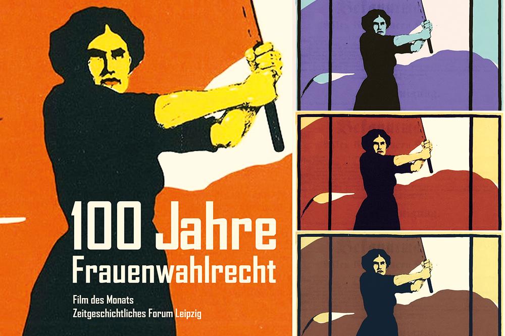 Plakat der Frauenbewegung. Wikimedia / Karl Maria Stadler, gemeinfrei