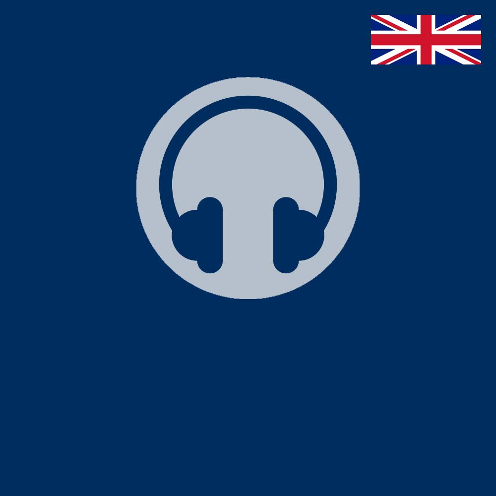 Logo für den AudioGuide in Englisch
