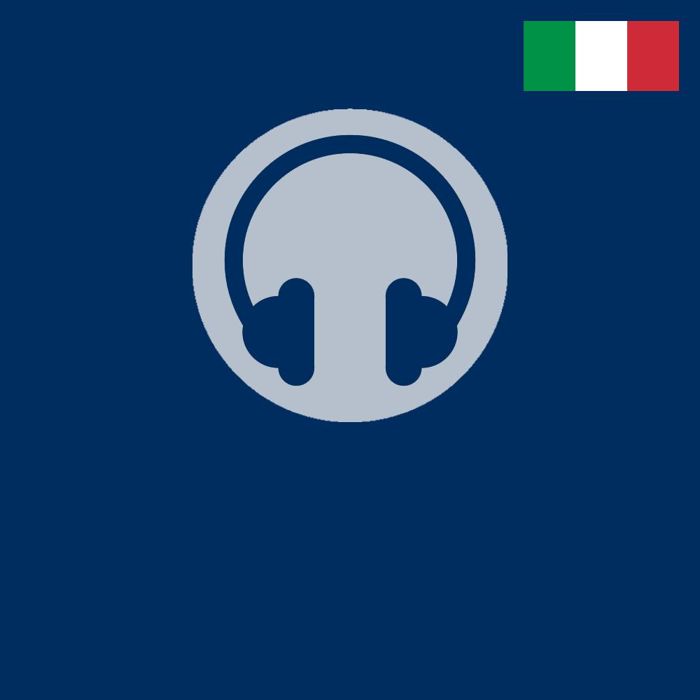 Logo für den AudioGuide in Italienisch