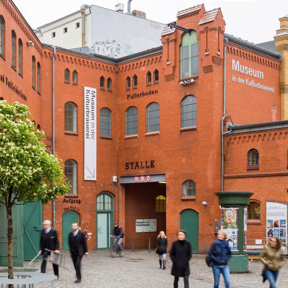 Außenansicht des Gebäudes, Museum in der Kulturbrauerei Berlin
