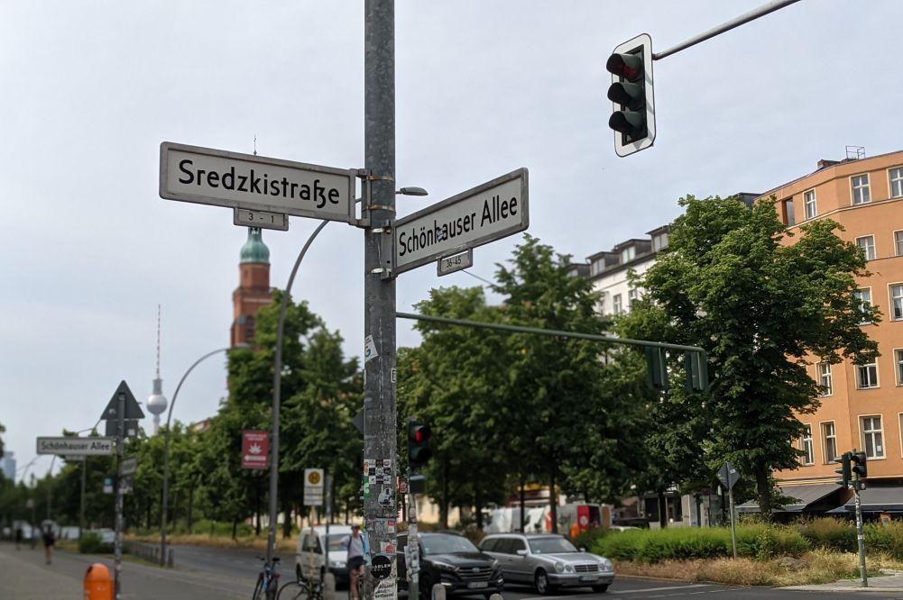 Sredzkistraße Ecke Schönhauser Allee
