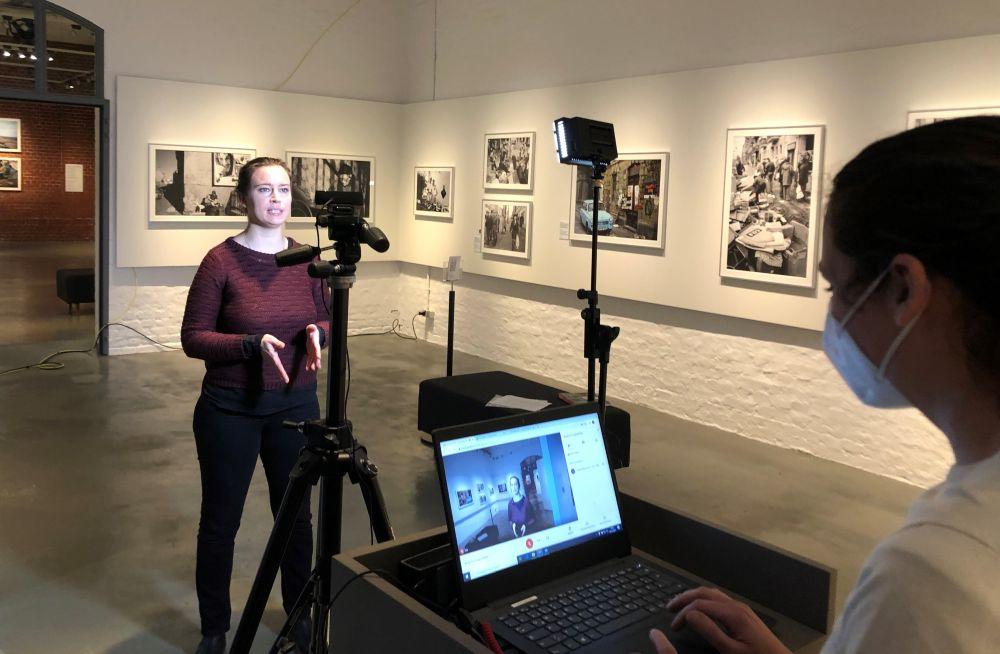 Aufzeichnung zur Live-Begleitung in der Ausstellung