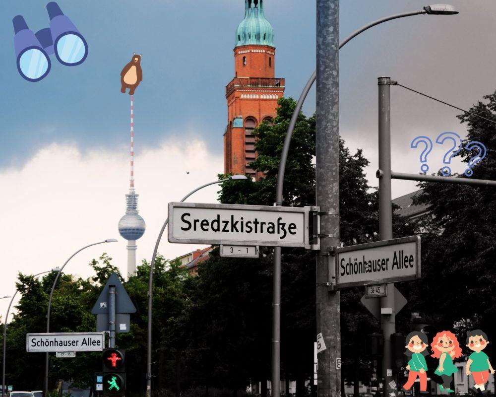 Ecke Sredzkistraße Schönhauser Allee