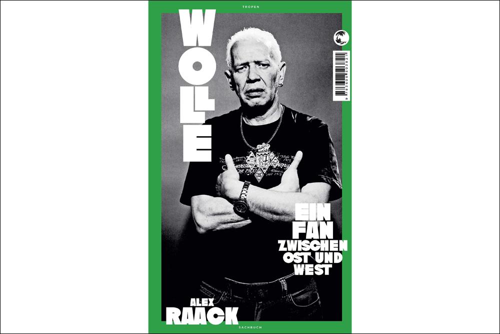 "Buchcover Alex Raack: ""Wolle"""
