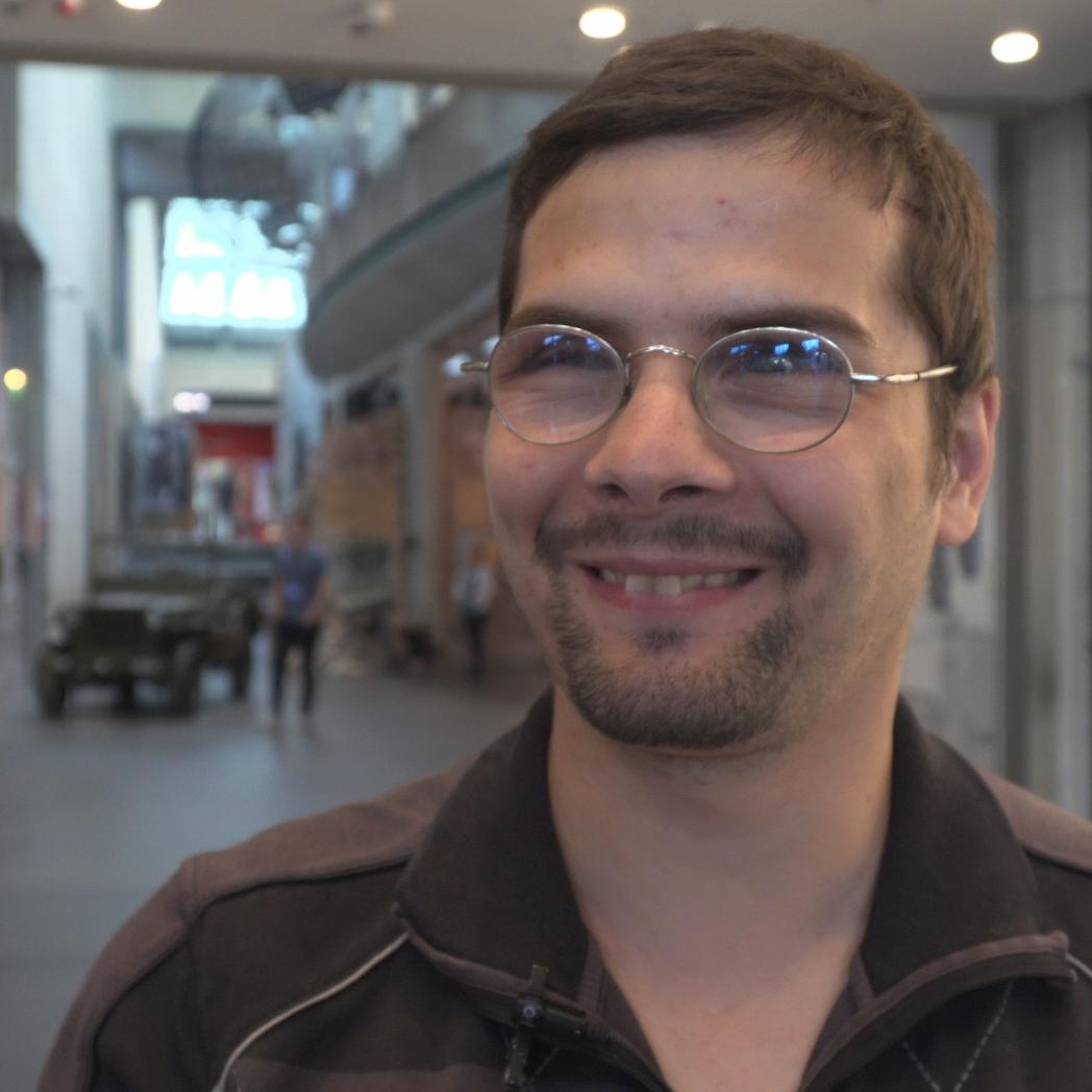Der Youtuber Erdin Ciplak.