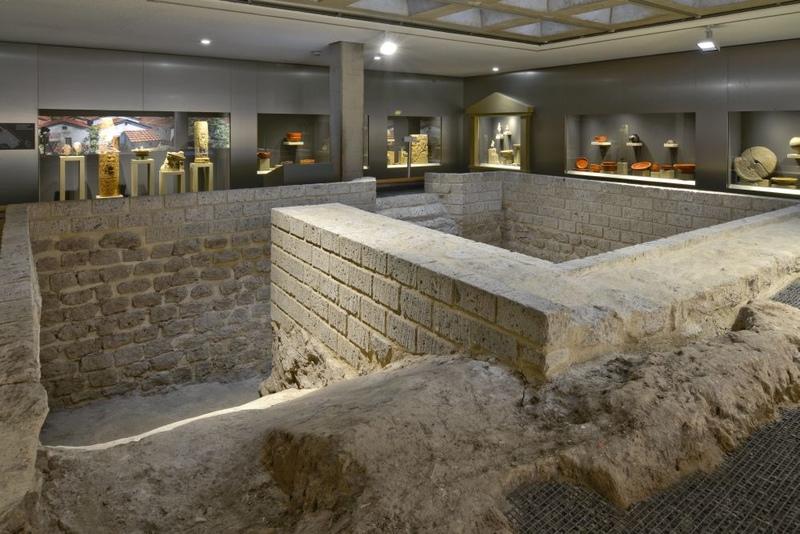 Roman Cellar at Haus der Geschichte Bonn