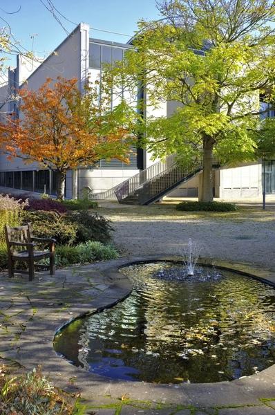 Museum garden Haus der Geschichte Bonn