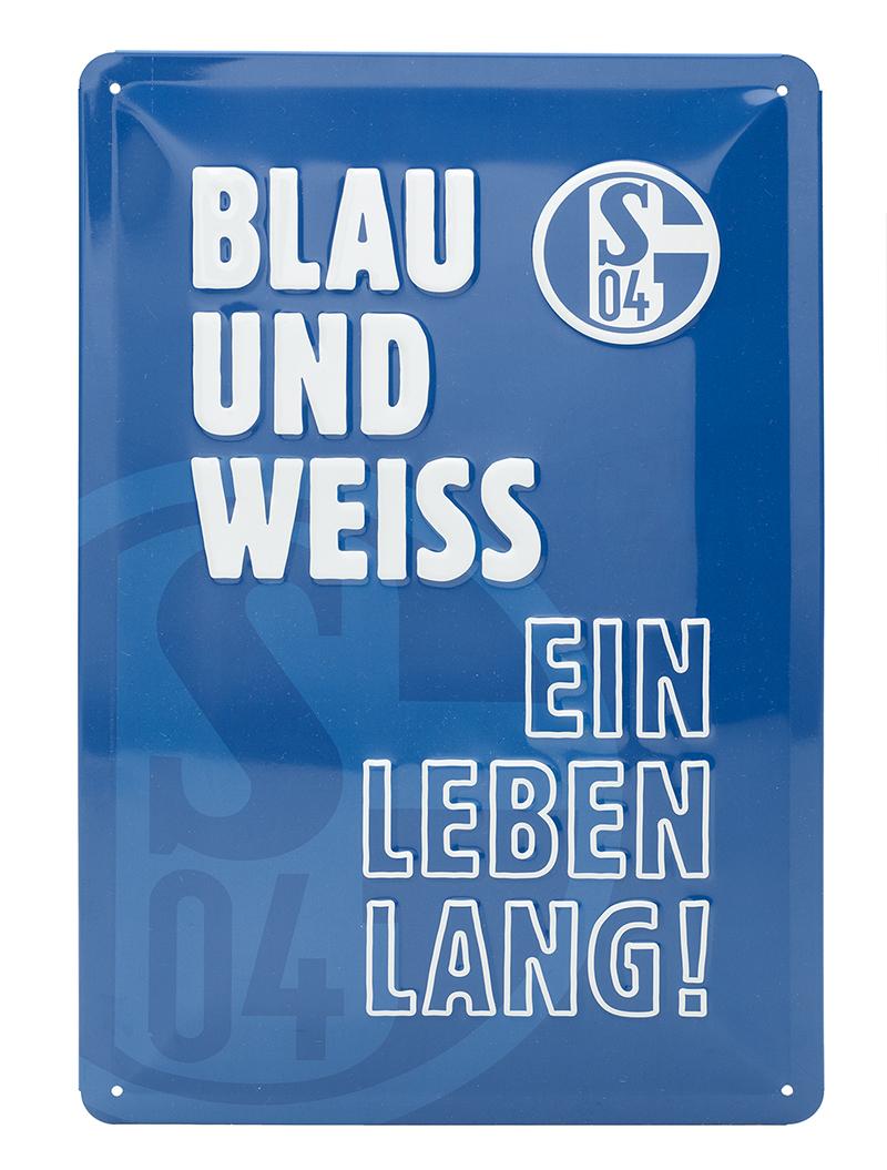 Schild Schalke 04
