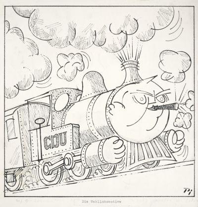 Karikatur von Klaus Pielert