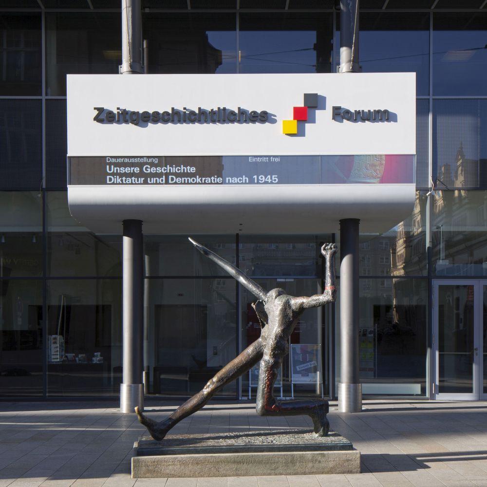 Entrance Zeitgeschichtliches Forum Leipzig