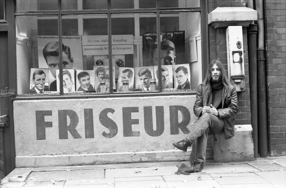 Fotografie 'Friseurladen auf St. Pauli'