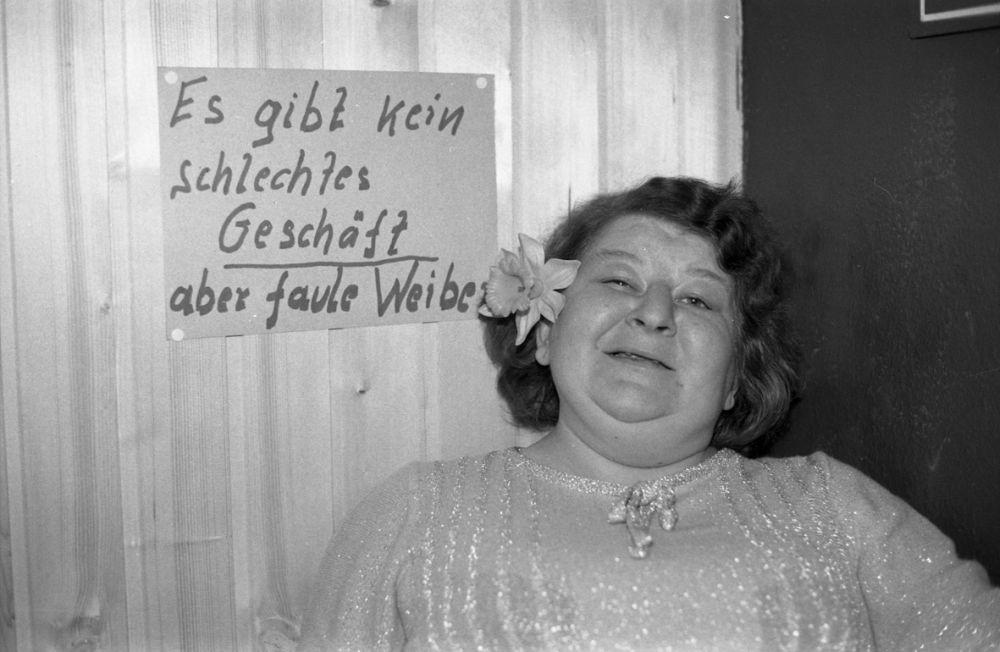 Fotografie 'Marianne aus Dieters Puff in St. Pauli'