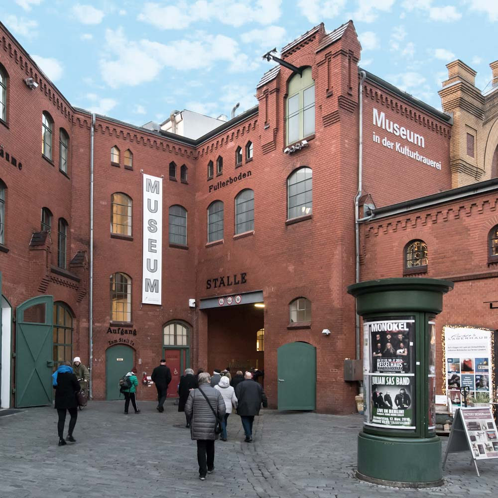 Museum in der Kulturbrauerei in Berlin