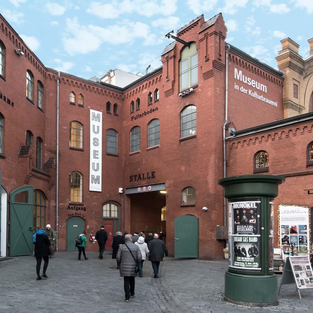 Museum in der Kulturbrauerei in Berlin